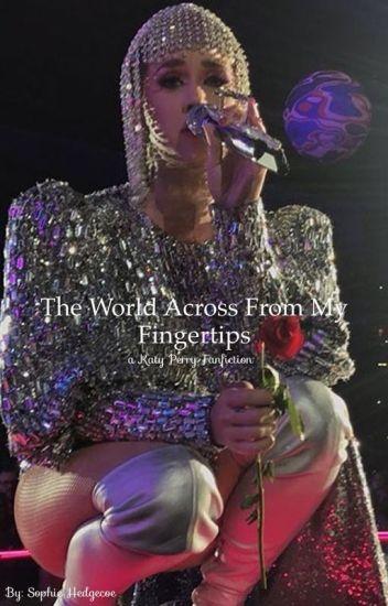 The world across from my fingertips