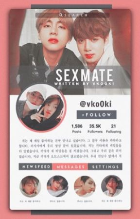 S*X MATE  | Vkook by vko0ki