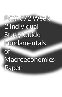 eco 372 week 1 discussion questions