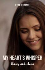My Heart's Whisper - Klaus & Elena by HybridxBites