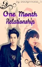 One Month Relationship by crimelxssa