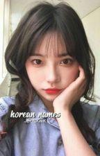 korean names。ff by JEONKWK