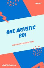 One Artistic Boi by MightBeIncorrectNumb