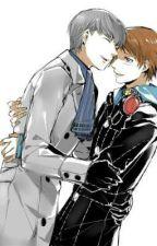 In your arms (Souji x Yosuke) by kittysalaiz