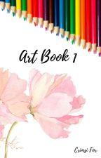My Weird Art Book by CrimsiFox