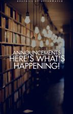 Announcements! by youngadultreads