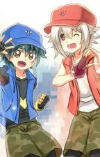 Pokemon Sun and Moon Ultra Adventures x Beyblade Burst Franchise Crossover[FIN.] by beyblade_mizuki