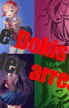 The Dokis under arrest  by derBlob5
