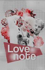LOVE NOTE 「 Changki 」 by pinkihyunnie