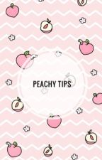 -Peachy Tips- by Indranil_CLC