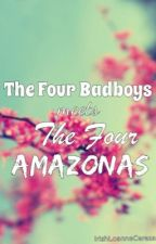 The Four Bad Boys Meets The Four Amazona's [The Devil vs. Devil] by IrishLoanneCereza