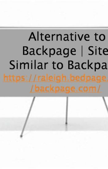 Alternative To Backpage Sites Like To Backpage