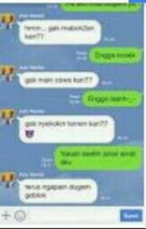 Chat Lucu Penipuan Wattpad