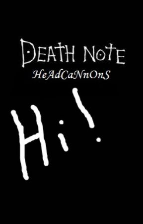 Death Note HeAdCaNnOnS by Nel_HasCake
