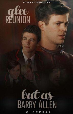 Glee reunion but as Barry Allen  by Gleek327