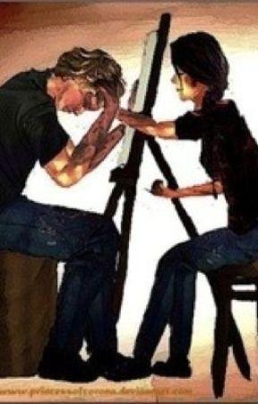 Peeta and Katniss by everlark145