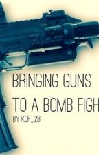 Bringing Guns to a Bomb Fight: Book 3 to Plus Size Punch by KDF_28