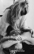 Red Butterflies//Swanqueen by lanasparilla