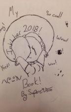 Inktober 2018 book by SuperV500