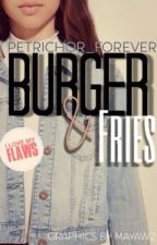 Burger And Fries  by Petrichor_forever