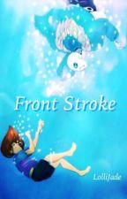 Front Stroke (Sans x Frisk) by LolliJade