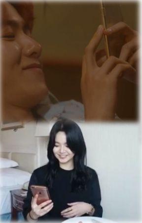 Baekhera texting by DowithloveEXO