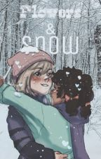 Flowers & Snow (Violentine) by MangoJangoJuice