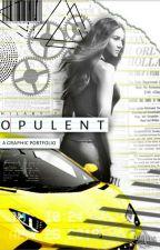 opulent ° a graphic portfolio by -almondmelk