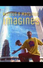 Marcus and Martinus imagines by MazeCrazieGlader