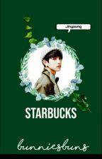 Starbucks| jinyoung by bunniesbuns