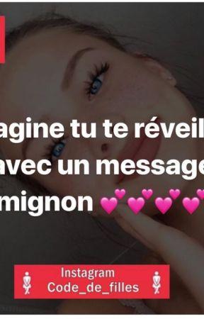Imagine Que Tu Te Réveilles Avec Un Message Mignon