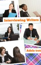 Interviewing Writers XD  ✔ by Adeleceeywatty_