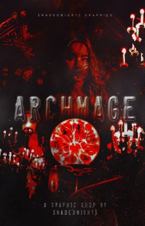 Archmage ✦ A Cover Shop by shadednights