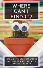 Where Can I Find It? (with links!) by CCrawfordWriting