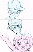 Cells at Work! ONE-SHOTS- RBC x WBC by EmbreTheWorld