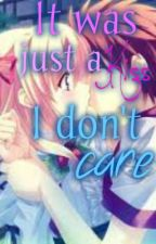 It was just a kiss: I don't care. by MissiCM