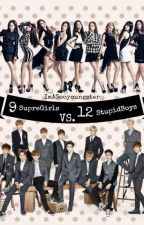9supergirls vs. 12stupidboys(the exo and snsd battle)[COMPLETE] by IMaSOOYOUNGSTER