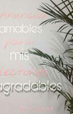Anuncios de futuros obras by SombriasBlack9