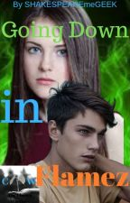 Going Down in Flamez : Book#1 of the Bronze Heartz series by SHAKESPEAREmeGEEK