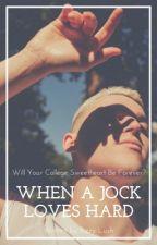 When A Jock Loves Hard (BXB) by JamieJauregui