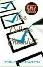 The College Checklist by anua24060