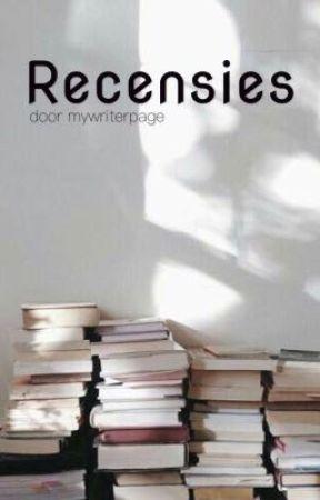 Recensies by mywriterpage