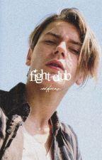 FIGHT CLUB.  (  80s/90s gif series  ) by codyfernz