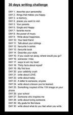 30 Day Writing Challenge!  by Uschalabamba