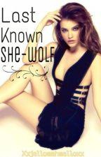 last known she-wolf (Alpha) by xxJellomahmelloxx