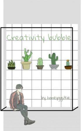 creativity corner by honeyggukie