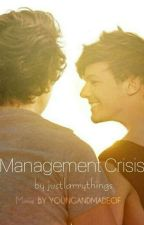 Management Crisis!🖤 by justlarrythings