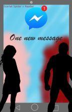 One new message │Scarlet Spider x Reader by SpiderAye