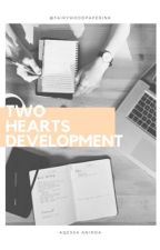 Two Hearts Development by fairywoodpaperink