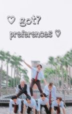 ♡ got7 preferences ♡ by kpopdiaries